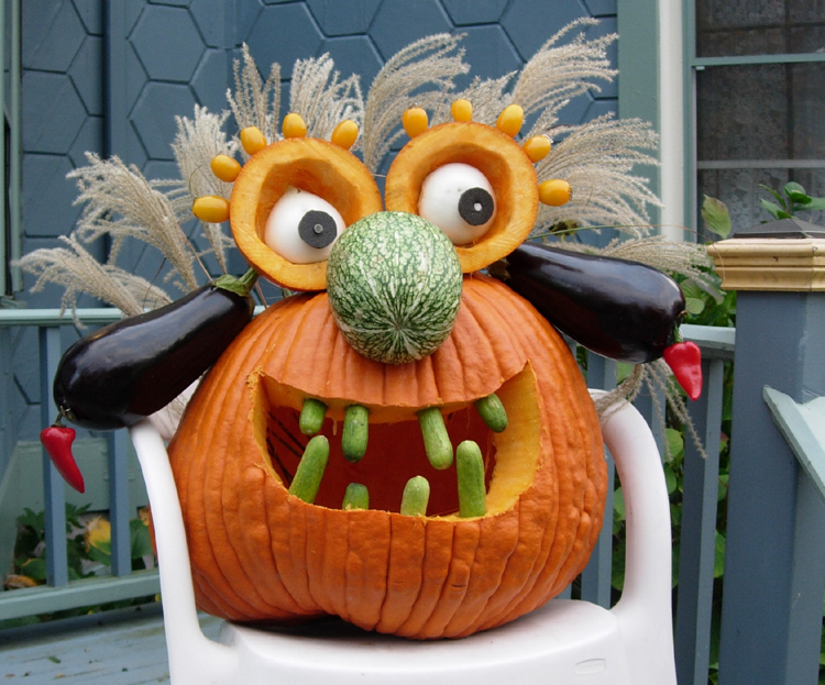 Mr Pumpkin Head 1